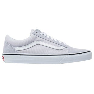 Vans Old Skool Shoes - Grey Dawn True White