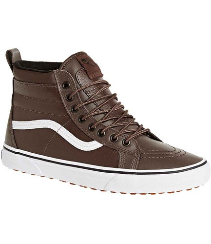 Vans Sk8 Hi MTE Shoes - Rain Drum Leather