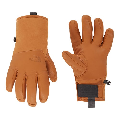 North Face Leather Il Solo Glv Gloves - Timber Tan