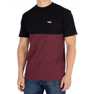 Vans Colour Block T Shirt - Port Royale Black