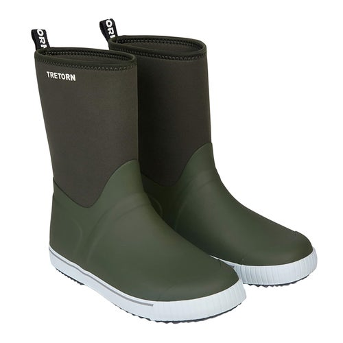 Tretorn Wings Neo Wellies - Forest Green