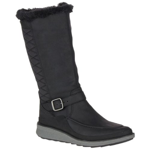 Merrell Tremblant Ezra Tall Polar WP Boots - Black