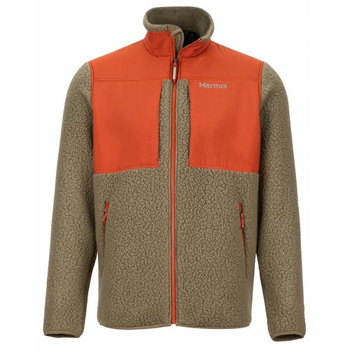 Marmot Wiley Fleece - Cavern/dark Rust