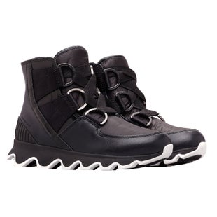 Sorel Kinetic Short Lace Boots - Black,white