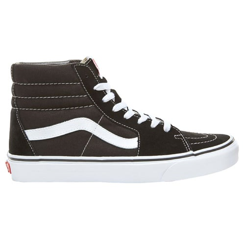 Vans Sk8 Hi Shoes - Black Black White