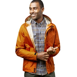 United by Blue Albright Rain Shell Jacket - Umber
