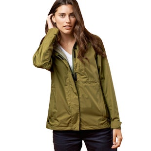United by Blue Albright Rain Shell Jacket - Olive