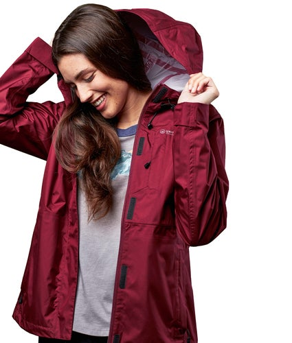 United by Blue Albright Rain Shell Jacket - Wine
