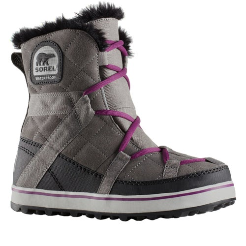 Sorel Glacy Explorer Shortie Boots - Quarry