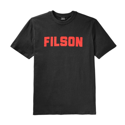 Filson Outfitter Graphic T Shirt - Faded Black