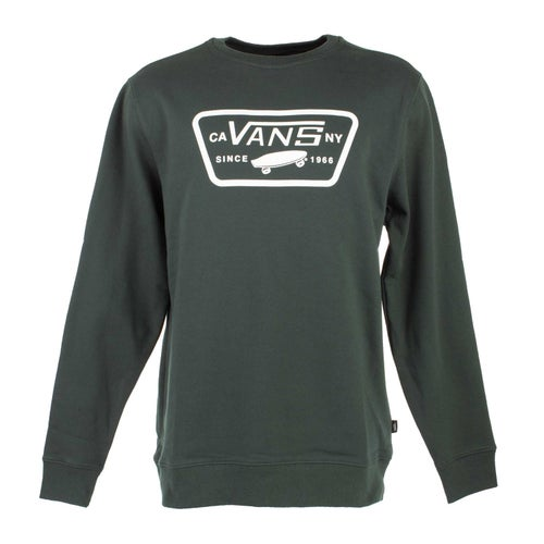 Vans Full Patch Crew Sweater - Darkest Spruce