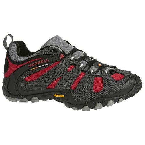 Merrell Chameleon Wrap Slam Hiking Shoes - Charcoal Red