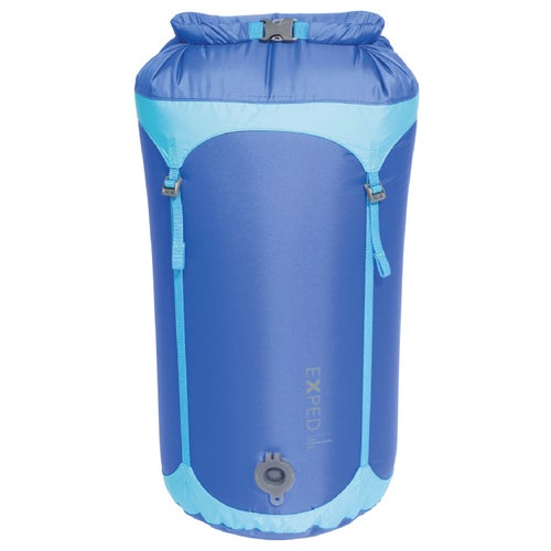 Exped Waterproof Telecompression Medium Stuff Sack - Blue