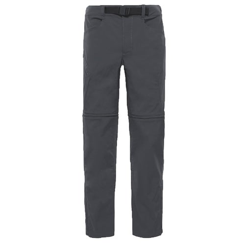 North Face Straight Paramount 3.0 Conv Reg Leg Walking Pants - Asphalt Grey