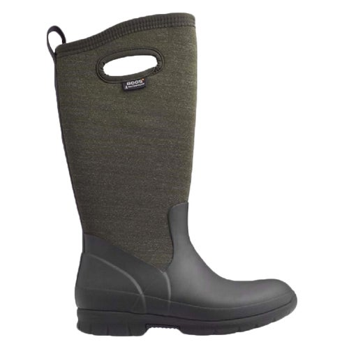 Bogs Crandall Tall Ladies Wellies - Choc Multi