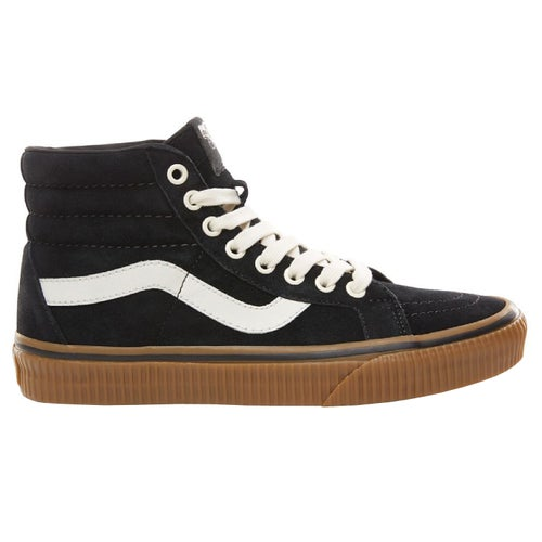 Vans Sk8 Hi Reissue Suede Shoes - Black Embossed Gum