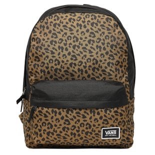 Vans Realm Classic Ladies Backpack - Leopard