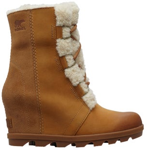 Sorel Joan Of Arctic Wedge Ii Shearling Boots - Camelbrown