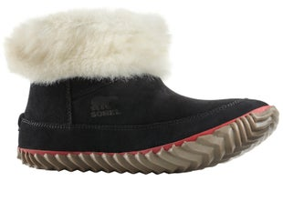 Sorel Out N About Bootie Slippers - Black,natural