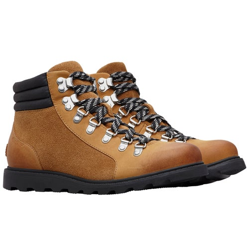 Sorel Ainsley Conquest Boots - Camel Brown Black