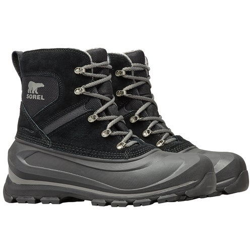 Sorel Buxton Lace Boots - Black,quarry