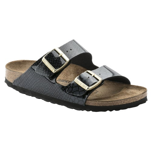 Birkenstock Arizona Sandals - Magic Snake Black