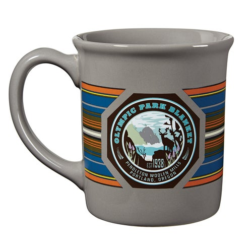Pendleton National Park Coffee Mug - Olympic Grey