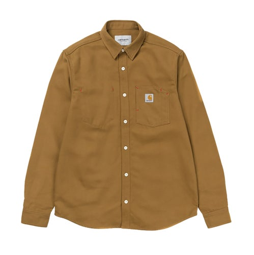 Carhartt Tony Shirt - Tobacco