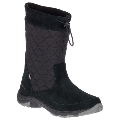 Merrell Approach Pull On LTR WP Boots - Black