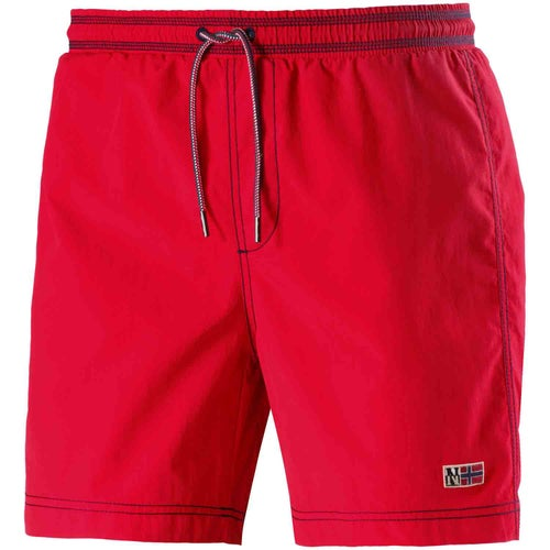Napapijri Villa Solid Walk Shorts - Bright Red