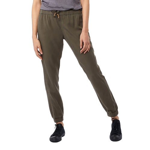 Tentree Colwood Trousers - Olive Night
