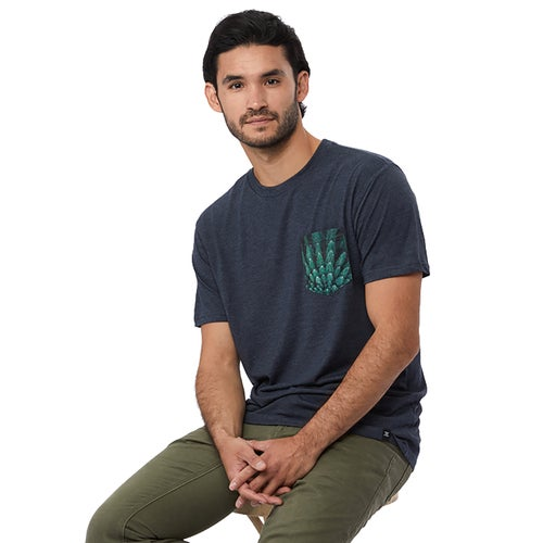 Tentree Drone Pocket T Shirt - Outer Space