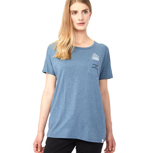 Tentree Sapling T Shirt - Blue Mirage