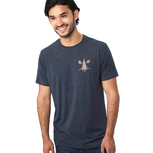 Tentree Support T Shirt - Outer Space