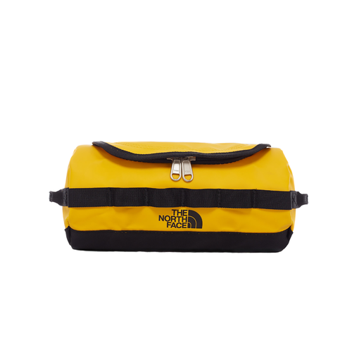 North Face Base Camp Travel Canister Washbag - Summit Gold TNF Black