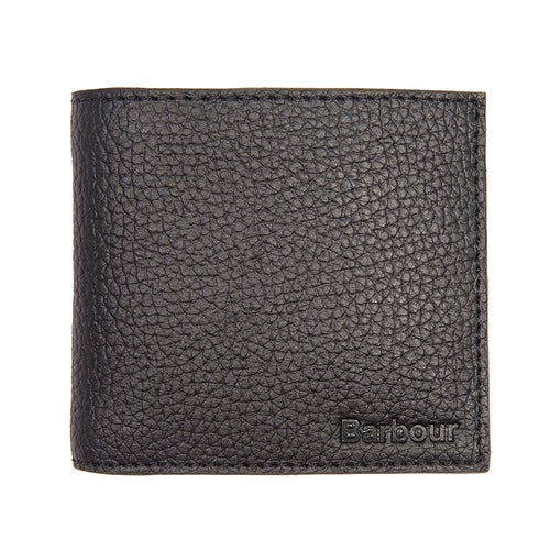 Barbour Grain Leather Billfold Wallet