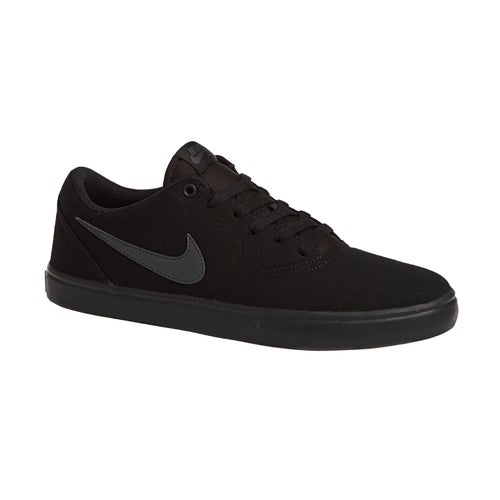 Nike SB Check Solarsoft Canvas Shoes - Black Anthracite