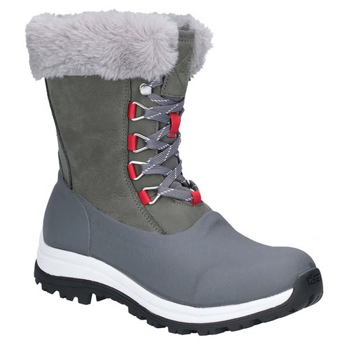 Muck Boots Apres Lace Ag Ladies Boots - Gray