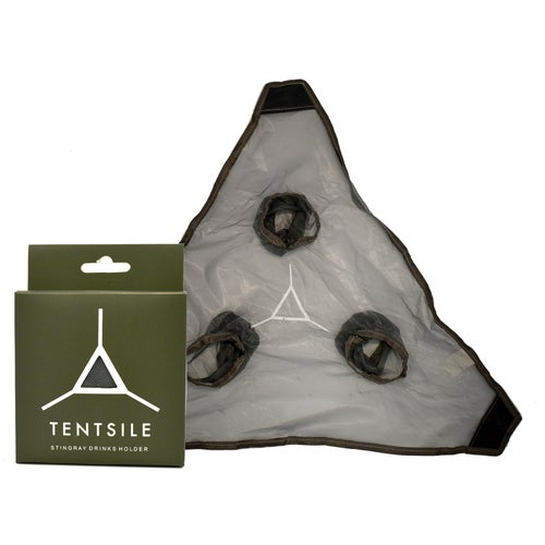 Tentsile Drinks Holder for Tree Tent - Grey Mesh