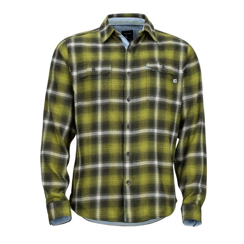 Marmot Jasper Midweight Flannel Shirt - Fatigue