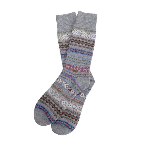 Barbour Boyd Socks - Grey Mix