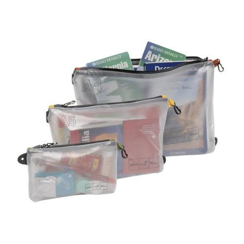 Exped Vista Organiser A5 Accessory Case - Transparent