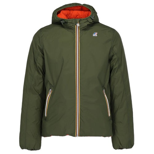 K-Way Jacques Thermo Plus Softshell Jacket - Green A-orange P