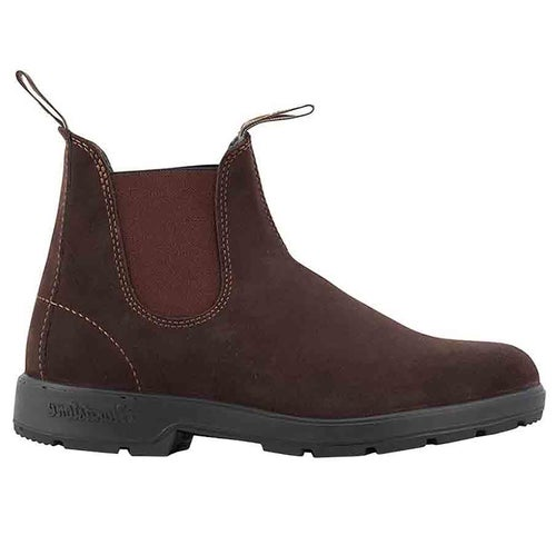 Blundstone Classic Series Suede Chelsea Boots - Brown