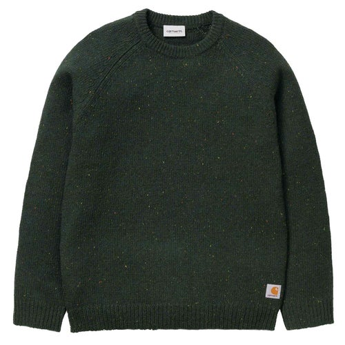 Carhartt Anglistic Sweater - Loden Heather