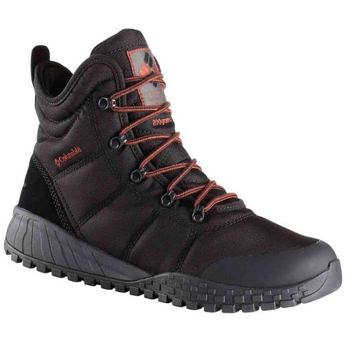 Columbia Fairbanks Oh Boots - Black, Rusty