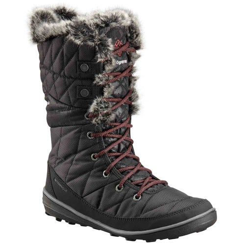 Columbia Heavenly Camo Oh Boots - Black, Marsala