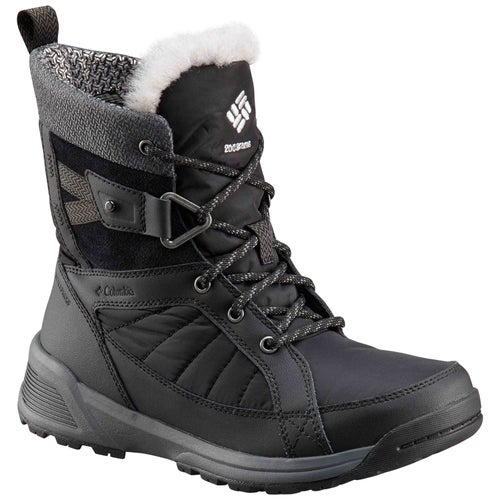 Columbia Meadows Shorty Omni Heat Boots - Black, Steam
