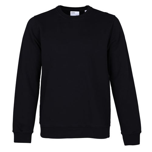 Colorful Standard Classic Organic Crew Sweater - Deep Black