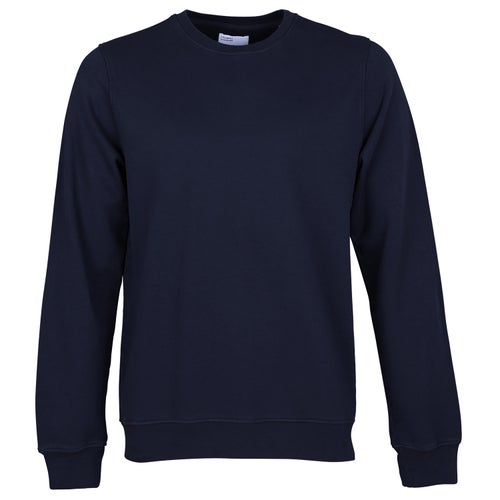 Colorful Standard Classic Organic Crew Sweater - Navy Blue